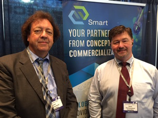 Nigel with Chris Macklin today at the American Outsourcing Event, Crown Plaza Hotel, Cherry Hill  NJ